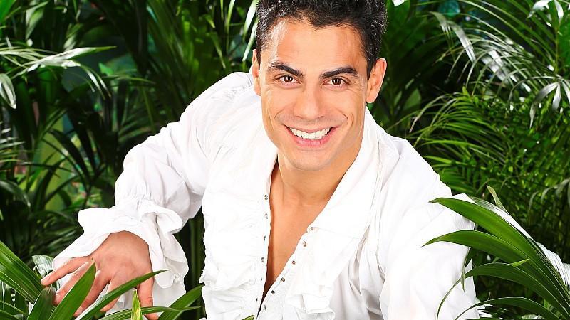 Sänger Silva Gonzalez zieht ins Dschungelcamp 2013 ein.