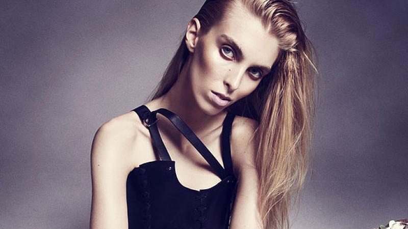 Chloe Memisevic: Magermodel bei der Berlin Fashion Week