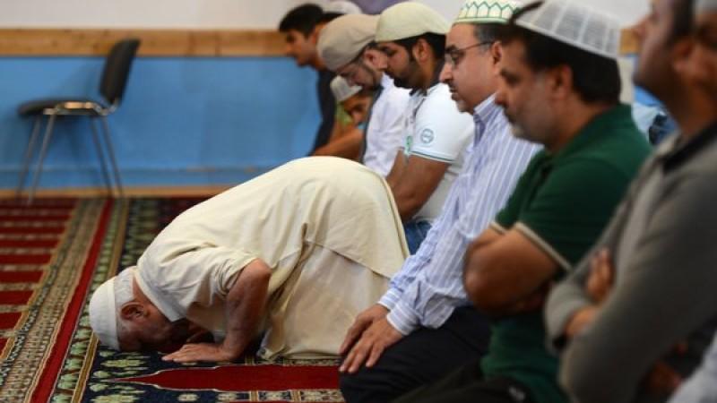 Mittagsgebet in einer Moschee