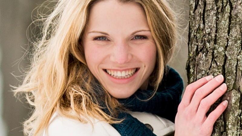 Maria Kempken fühlt sich in ihrer Rolle als Lena Bergmann pudelwohl