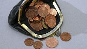 Preiserhöhungen durch Abschaffung von Centmünzen