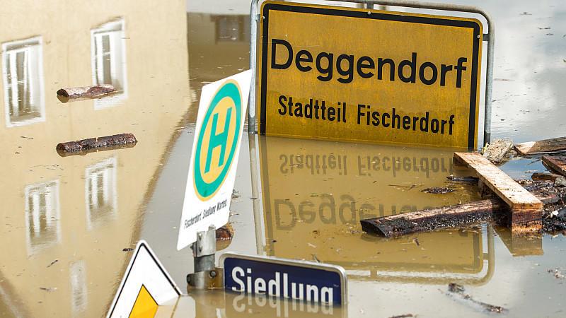 Deggendorf, Hochwasser