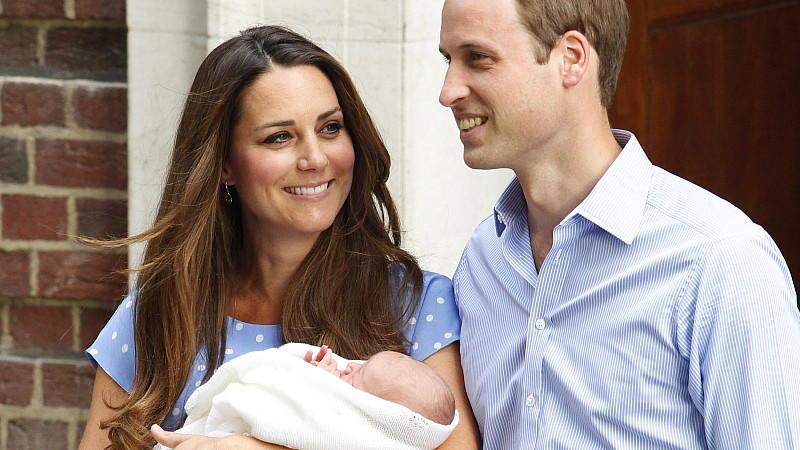 Herzogin Catherine Prinz William: Erster Auftritt mit dem Royal Baby