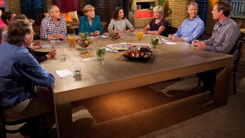 'Meine Wahl: An einem Tisch mit Angela Merkel'