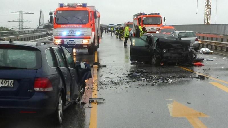 Folgenschwerer Unfall auf der Autobahn 23 bei Itzehoe
