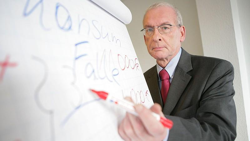 Schuldnerberater Peter Zwegat