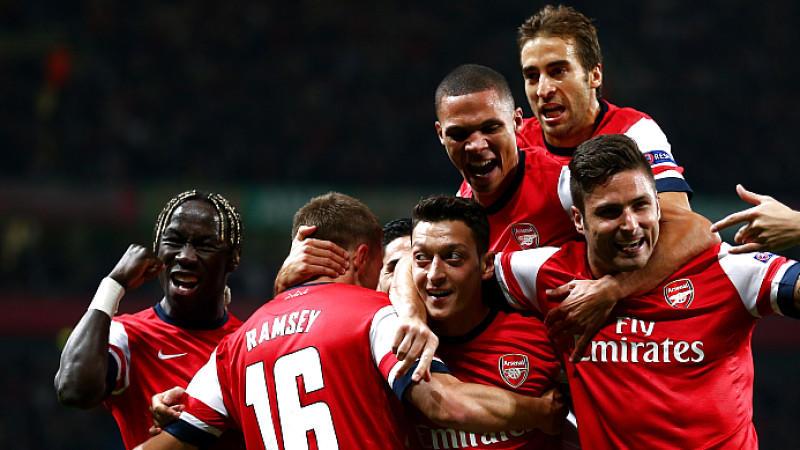 Özil, Arsenal, London, Gunners, Giroud