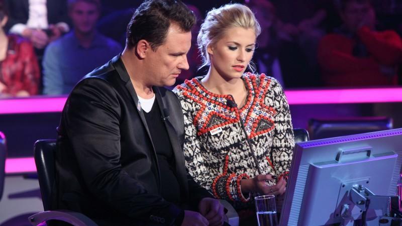 Lena und Guido Maria wurden von Waldemar Hartmann in die Irre geführt.
