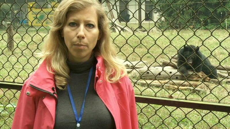 RTL-Reporterin Pia Schrörs berichtet aus China
