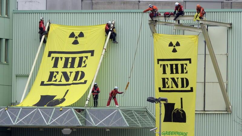 Atom AKW Greenpeace Studie Gefahr