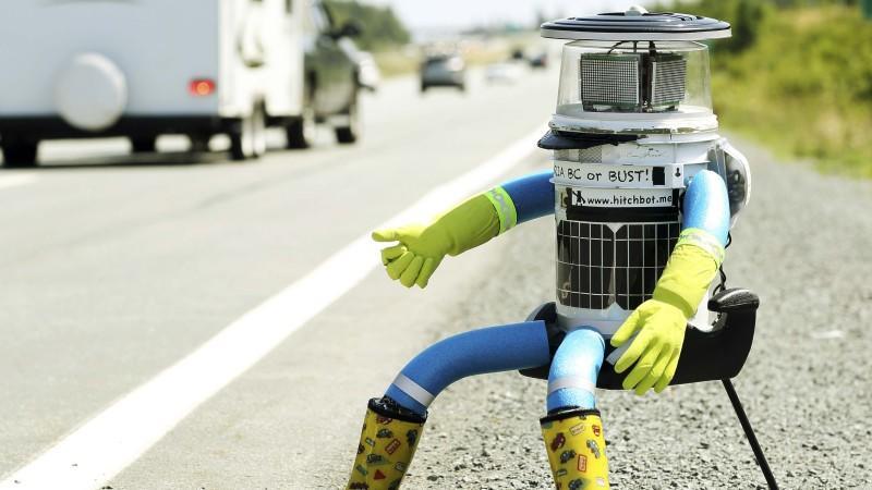 Roboter HitchBOT zerstört