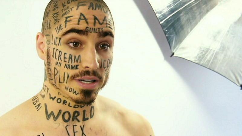 Tattoos im Gesicht: Vin Los will der berühmteste Mensch der Welt werden