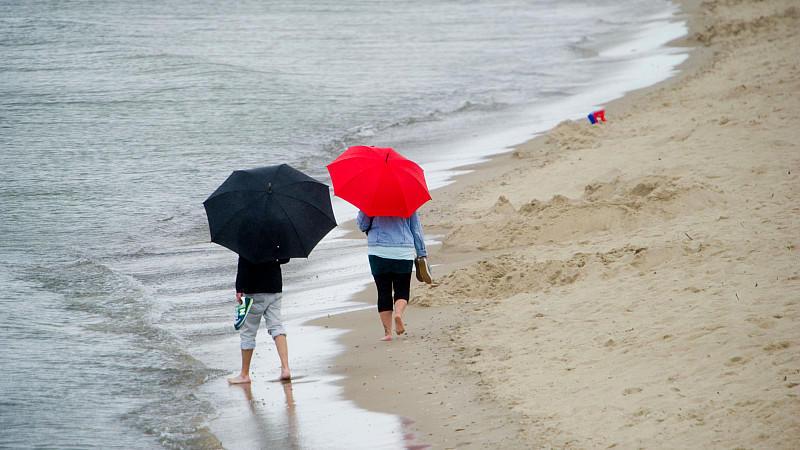 Auch bei schlechtem Wetter ist Sonnenschutz wichtig.