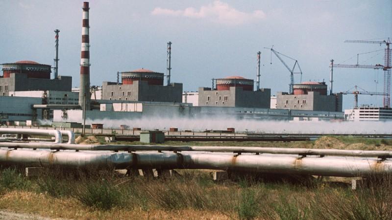 Atomkraftwerk Saporoschje in der Ukraine