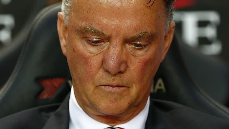 Louis van Gaal fühlt sich bei Manchester United viel besser aufgehoben als beim FC Bayern.