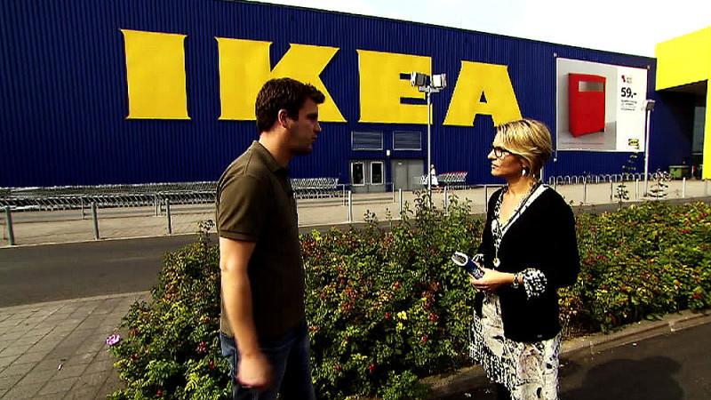 Unser Reporter hat getestet, wie einfach es ist, bei IKEA alte Möbel umzutauschen.