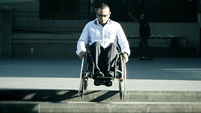 Rollstuhl Softwheel Erfindung Technik
