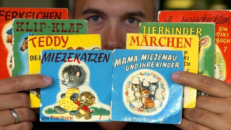 Pixi-Bücher feiern Geburtstag: 60 Jahre Kinderbücher im Miniformat