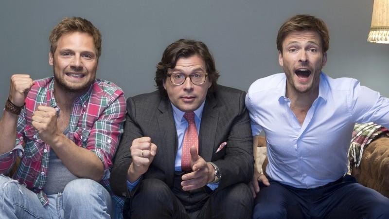 V.l.: Christoph Letkowski, Hans-Jochen Wagner und Andreas Pietschmann