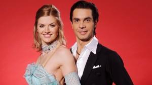 """Die """"Let's Dance""""-Kandidaten Nina Bott und Roberto Albanese"""
