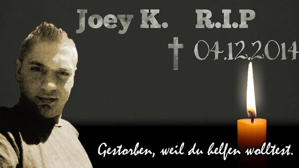 Joey K. RIP Foto Facebook