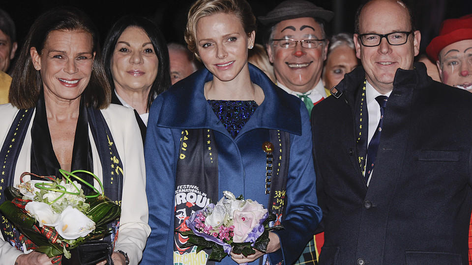 Fürstin Charlène von Monaco und Fürst Albert verkünden die Namen ihrer Zwillinge