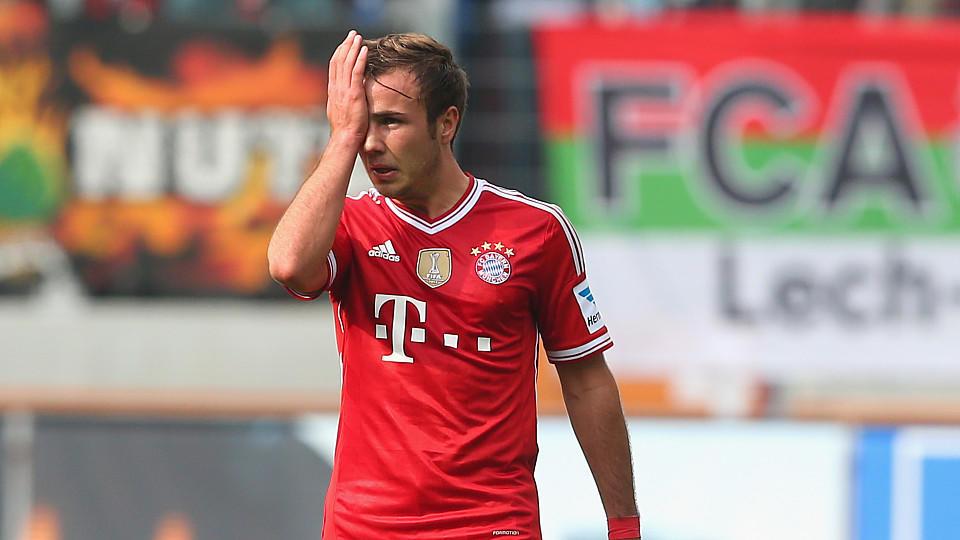 Mario Götze, 29. Spieltag, Saison 2013/14 FC Augsburg - FC Bayern