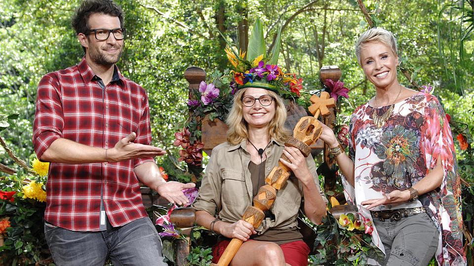 """Die Ex-""""Glückrad""""-Fee Maren Gilzer gewinnt das Dschungelcamp 2015."""