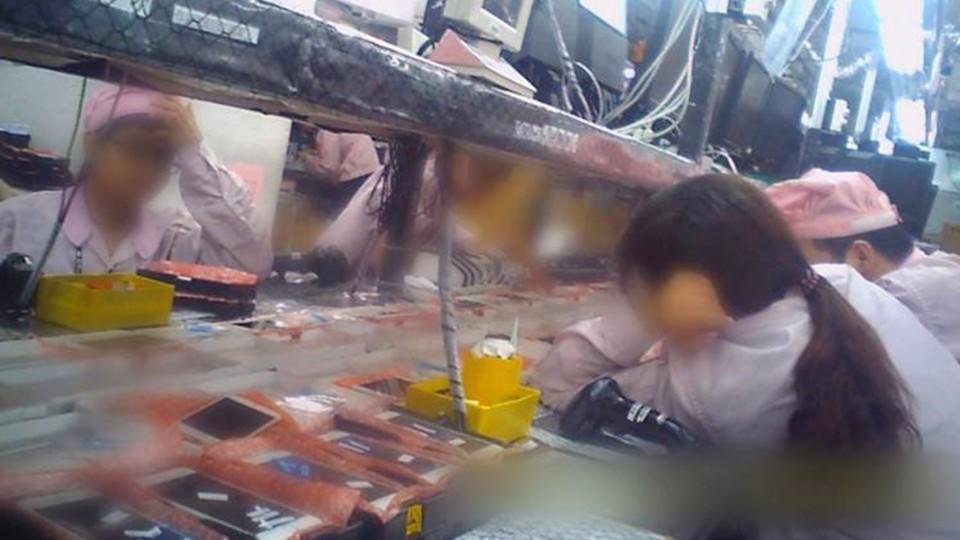 Hier wird das iPhone hergestellt: Eine Zuliefererfabrik in China.