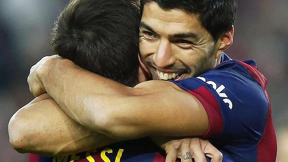 Lionel Messi; Luis Suarez