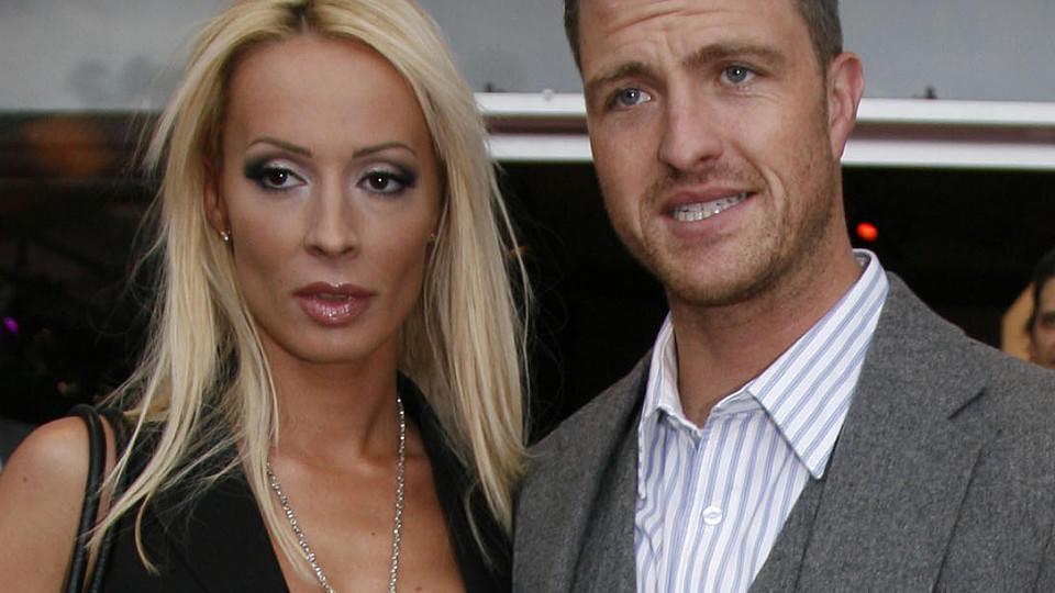 Cora und Ralf Schumacher trafen sich vor einem Familiengericht in Bergheim.