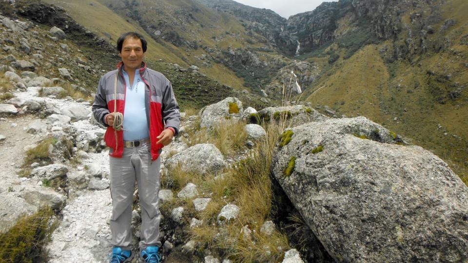 Der Peruaner Saúl Luciano Lliuya will sich und seine Heimatstadt schützen - und fordert von RWE Geld für Schutzmaßnahmen.