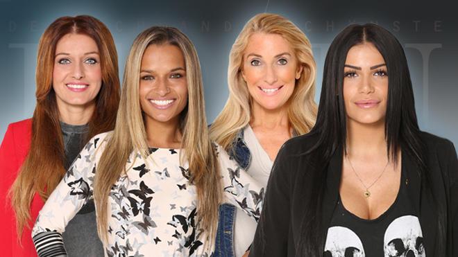 Deutschlands schönste FRau: Erna, Ramona, Susana und Roaya - die Finalistinnen