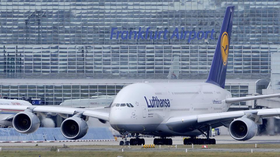 Eine Lufthansa-Maschine wäre beinahe verunglückt.