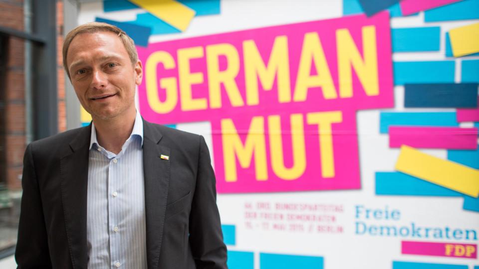 Frei, bunt und etwas klamm: FDP und ihr Vorsitzender Lindner