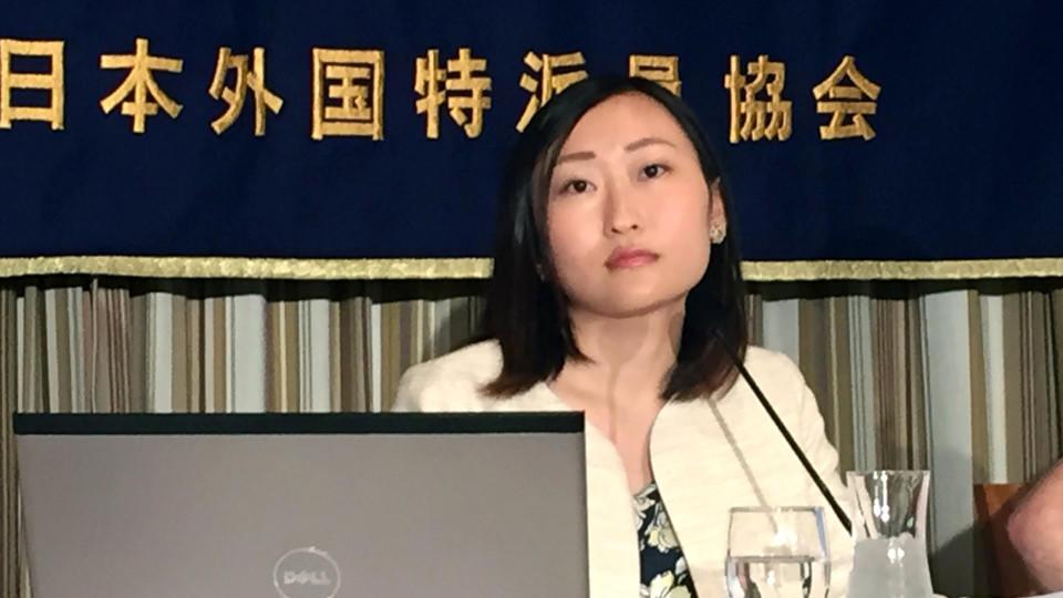 Yumeno Nito von der Hilfsorganisation 'Colabo' setzt sich gegen sexuelle Ausbeutung von Mädchen in Japan ein.