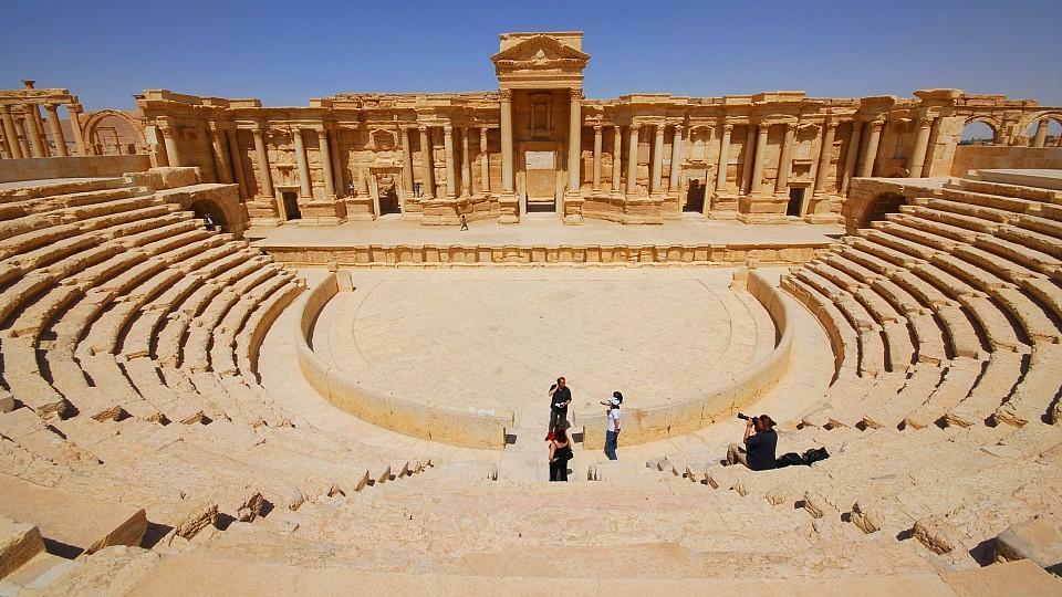 Theater von Palmyra.
