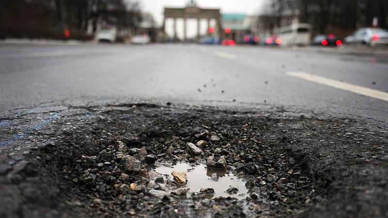 Für Straßen und Verkehrsinfrastruktur fehlen 34 Milliarden Euro.