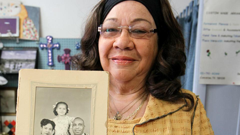 Verda Ann Byrd dachte, sie sei eine Schwarze