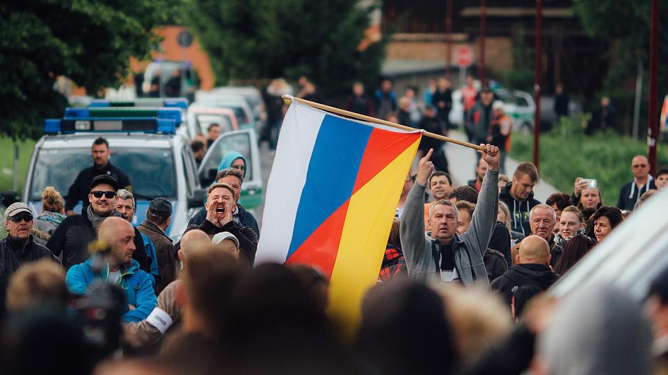 Proteste Freital bei Dresden