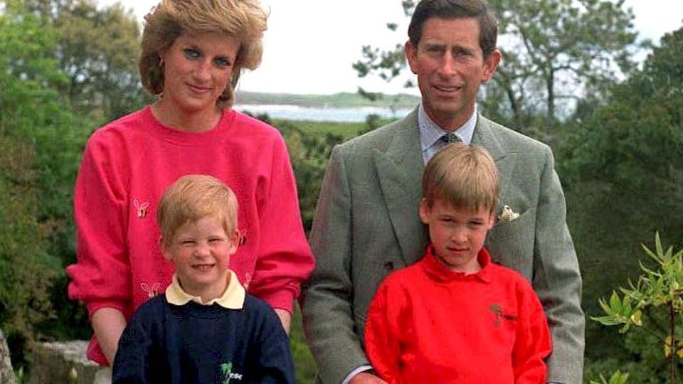 Prinzessin Diana (hier mit Ex-Mann Prinz Charles und den gemeinsamen Söhnen Harry und William) liebte es, Mama zu sein