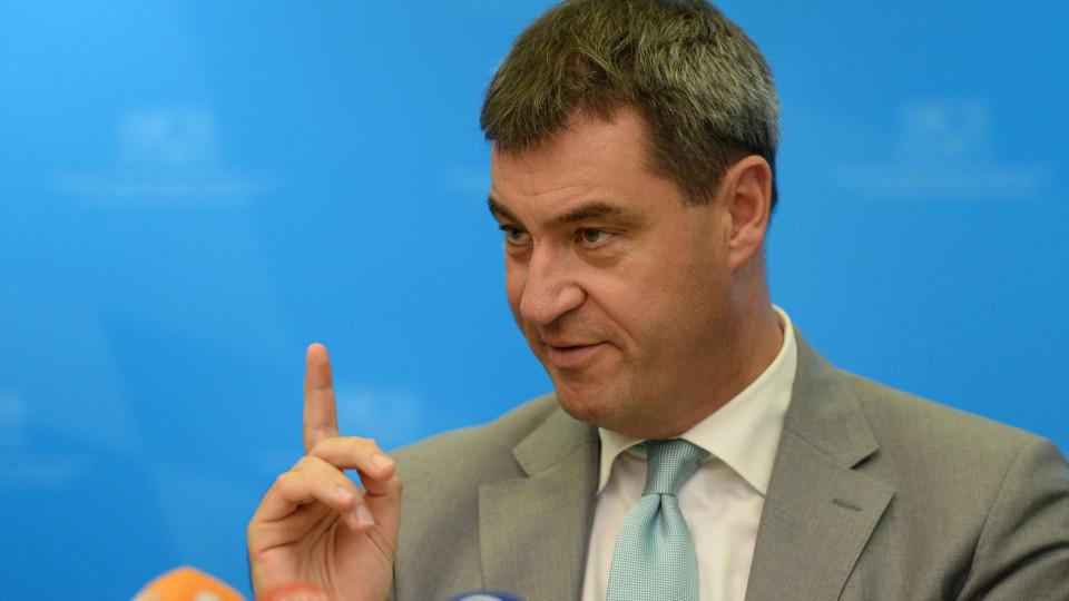 Bayerns Finanzminister Markus Söder (CSU).