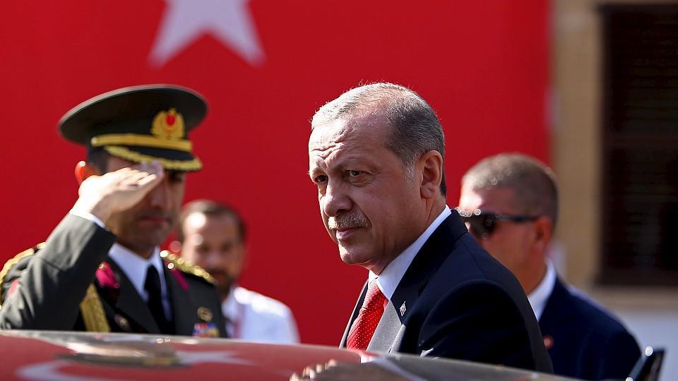 Ministerpräsident Erdogan