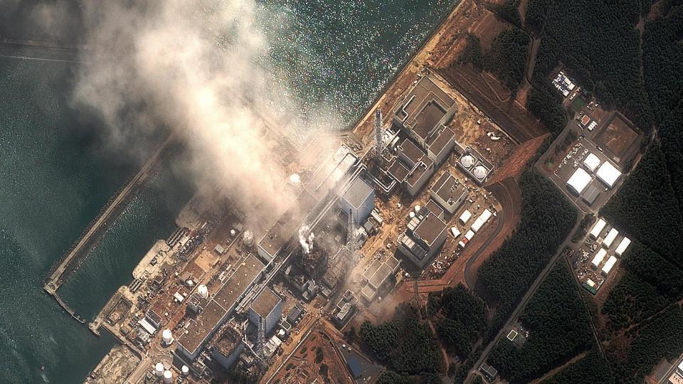 Kernschmelze im Fukushima Atomkraftwerk