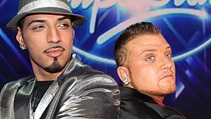 Die DSDS-Finalisten Mehrzad Marashi und Menowin Fröhlich kämpfen um den Titel Superstar 2010