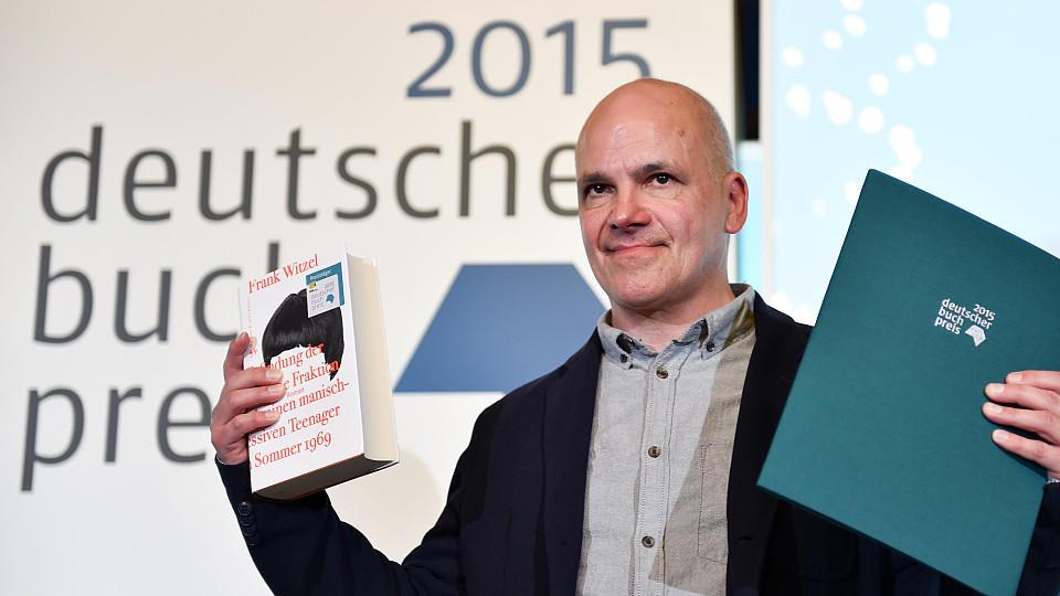 Frank Witzel erhält den Deutschen Buchpreis 2015.