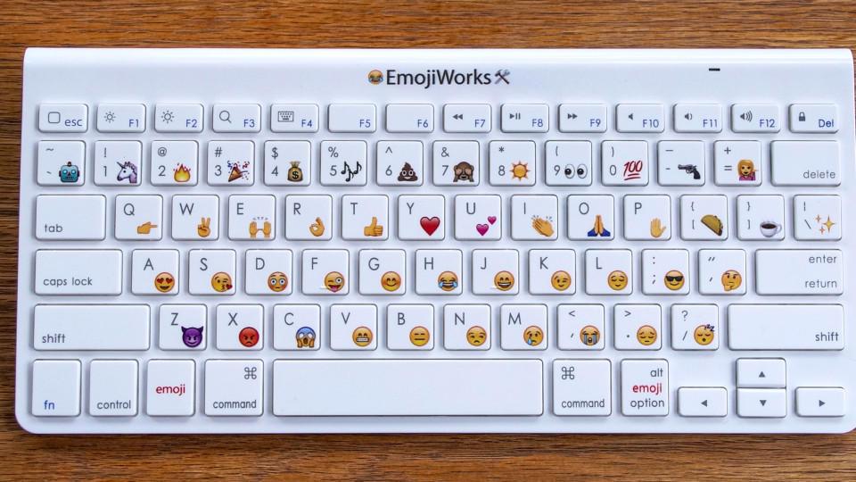 Smileys tastatur computer Kawaii Face