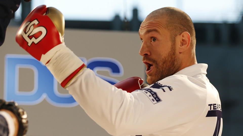 Tyson Fury ist sich seines Sieges über Wladimir Klitschko gewiss