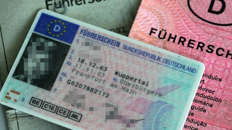 So sahen Führerschein bis jetzt ausschließlich aus.