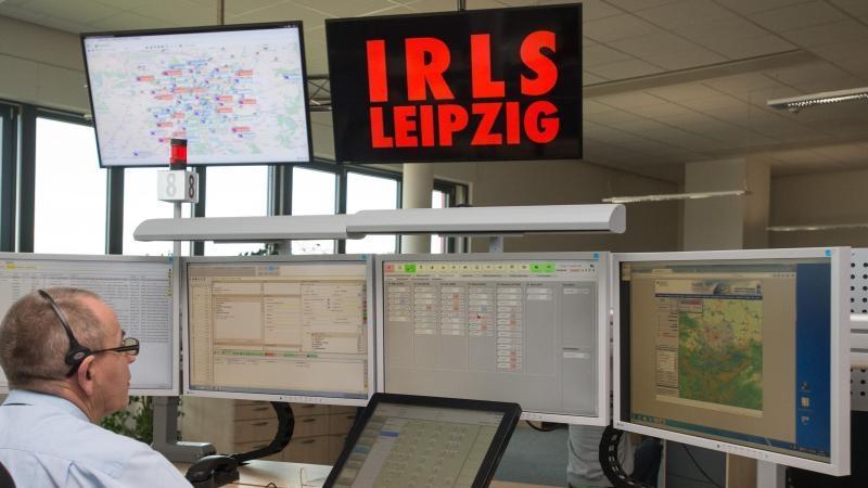 Neue Notruf-Zentrale der Leipziger Feuerwehr